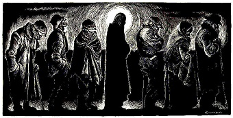"""Christ of the Breadlines,"" by Fritz Eichenberg"