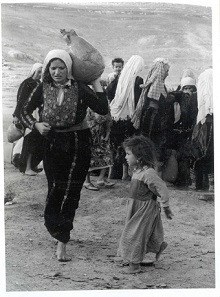 """Nakba woman & child"" (1948)"