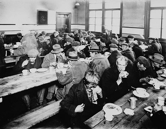 Montreal Soup Kitchen 1931